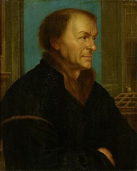 bildnis des johannes froben by hans holbein the younger