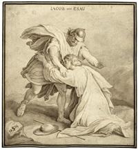 die versöhnung von jakob und esau by julius schnorr von carolsfeld