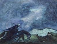 sensenmann auf dem pferd by walter krebs