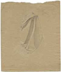 kniende rückenfigur (study) by johann friedrich overbeck