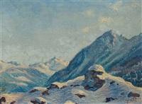 sonnentag in graubünden by rodolfo olgiati