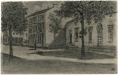 vorstadtstrasse by xavier mellery