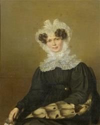 porträt einer dame by firmin massot