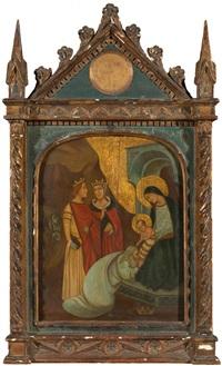 anbetung der könige in florenz by taddeo di gaddo