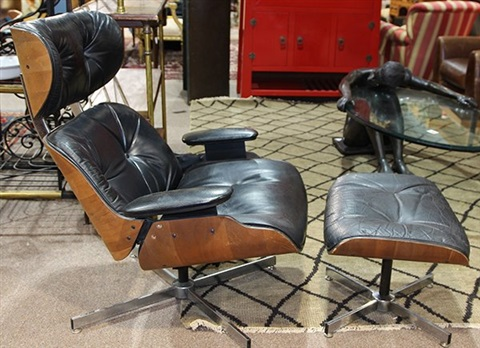 Tremendous Eames Style 670 And 671 Lounge Chair And Ottoman By Charles Pdpeps Interior Chair Design Pdpepsorg