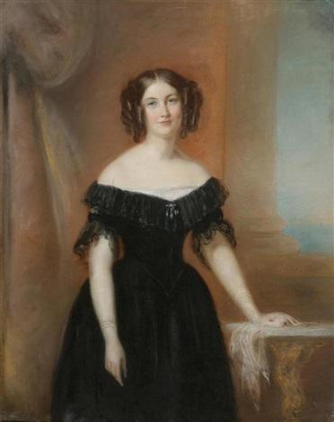 portrait dadèle de seillon by firmin massot