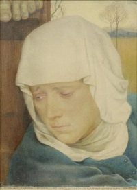 mater dolorosa by charles-louis rivier