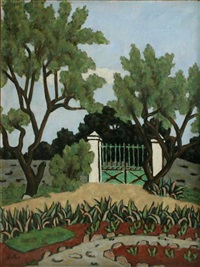 the green fence by georges ascher