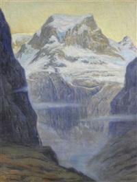 schweizer berglandschaft by emile alder