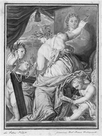 allegorie der malerei by giovanni maria delle piane