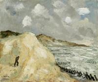 dünen an der küste by jean eugène bersier