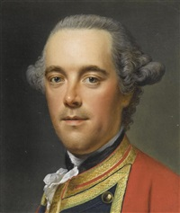 portrait des general william fawcett by johann georg ziesenis