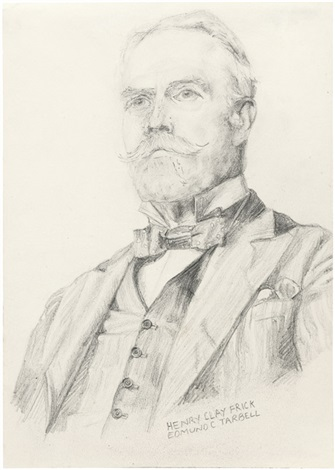bildnis henry clay frick by edmund charles tarbell