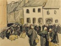 der marktplatz by maurice le scouézec
