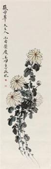 菊花图 by jiang miaoxiang