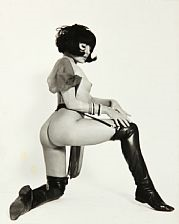 collection of 46 photographs of pin-up girls by serge jacques