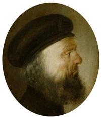 porträt eines bärtigen mannes by jan van de venne