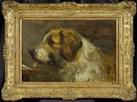 bernadinerhund by paul friedrich meyerheim