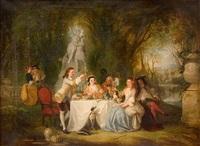 fete champetre (pastoral celebration) by henry andrews