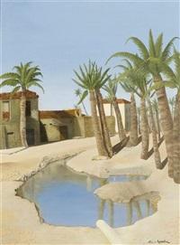 oase el faiyum by nicolas von roessel