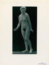triptych, nude studies by jean-marie auradon