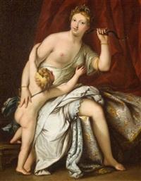 cupido wird von venus entwaffnet by paolo veronese