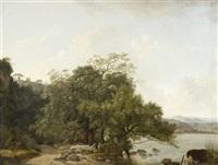 uferlandschaften (le romain) (pair) by françois jean (jean françois) sablet