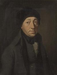 portrait einer zürcher amtsperson by heinrich hegi