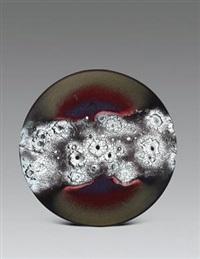 本空·若怡系列 (porcelain plate) by dai yuxiang