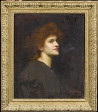 frauenportrait by isaac snowman