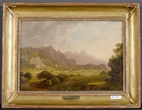 alpenlandschaft by florian grospietsch