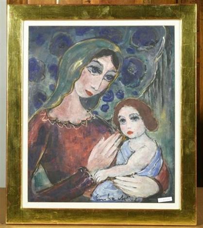 madonna mit kind by georg einbeck