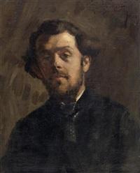 porträt eines künstlerfreundes by marius barthalot