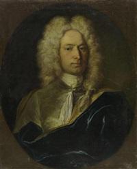 porträt eines edelmannes by johann rudolf huber the elder