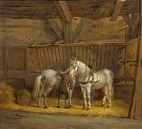 in the stable by anthony oberman