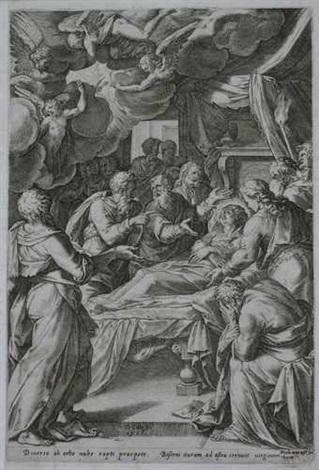 der tod der maria by nicolaus van aelst