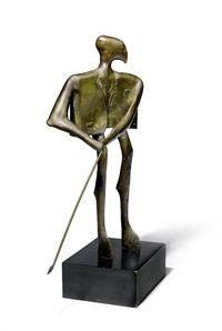 der golfspieler by kurt laurenz metzler