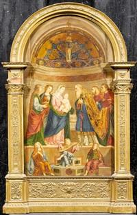 christus im tempel by marianna pascoli angeli