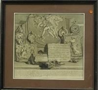 iscrizioni e frammenti delle carmere sepocrali della famiglia arrunzia (pl. 13, after giovanni piranesi) by jean barbault