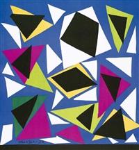 exposition d'affiches. plakat der kléber gallery, paris by henri matisse