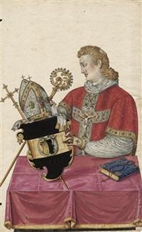 bildnis des johann von wartenberg, kanonikus von leitmeritz und orator kaiser karls iv by austrian school-vienna (17)