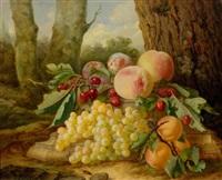 früchtestillleben im wald by françois lepage