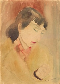 porträt liselore bergmann by alexander camaro