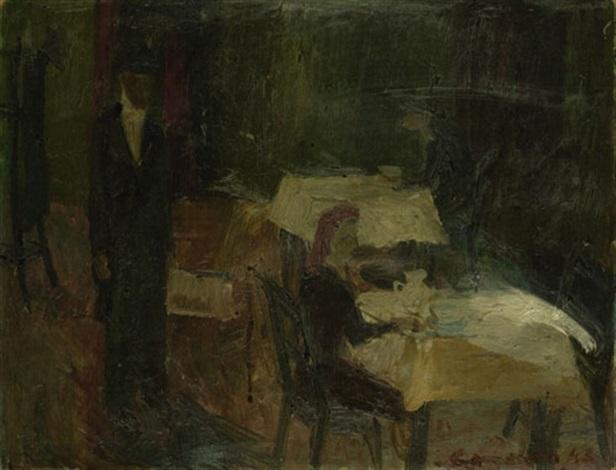 in einem kaffeehaus by alexander camaro