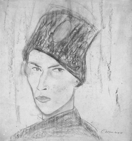 selbstbildnis mit mütze another similar verso by alexander camaro