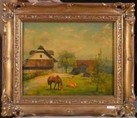 bauernhof in schwyz by walter küng