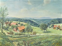 landschaft by fritz von almen