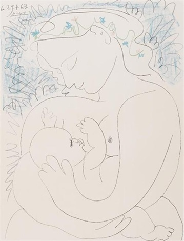 Grand maternité by Pablo Picasso on artnet