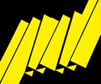 komposition in schwarz und gelb by jürgen reipka