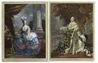marie-antoinette de lorraine d'autriche, reine de france (+louis xvi; pair) by rosseline le suedois